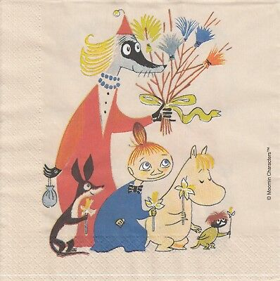3 Lunch Servietten - Napkins (TF19) Die Moomin