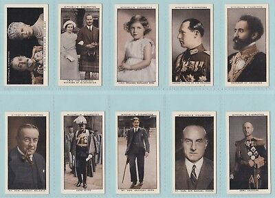 Cigarette Cards - A Gallery Of 1935 (Stephen Mitchell & Son) - 40 Cards