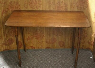 ANTIQUE Oak Sewing Table, Paris Manufacturing Co., South Paris, Maine