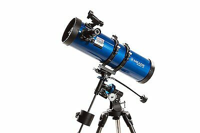 Meade Polaris Motorised 130Md Eq3 German Equatorial Astro Reflector Telescope