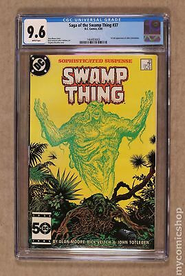 Swamp Thing (1982 2nd Series) #37 CGC 9.6 1464959003