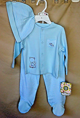 LITTLE ME 100/% Cotton 3 pc SPORT PATCHES Hooded Jogger Set INFANT BOY SIZES NWT