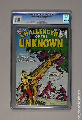 Challengers of the Unknown (1958 DC 1st Series) #5 CGC 9.0 1054129001