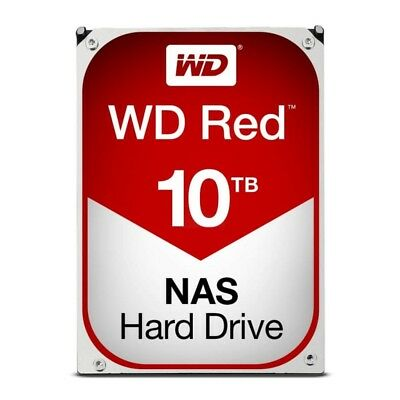Western Digital WD 10TB SATA 6Gb 256Mb Intellipower NAS RED Hard Drive WD100EFAX