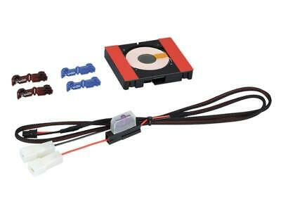 Kit Installation Chargeur Induction - 12V - sans led - 69 x 79 x 14 mm - ADNAuto