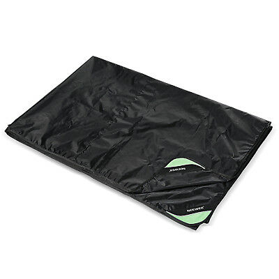 """Neewer Black 80 x 108"""" Drum Set Dust Cover Water-Resistant Cover With Corners"""
