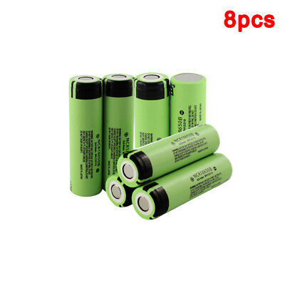 8Pcs 3.7V ncr18650B 3400Mah Rechargeable Batteries For Battery Portable Charger