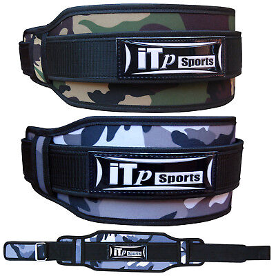 Neoprene Weight Lifting Belt Double Support Brace Straps Gym Fitness Workout Fit
