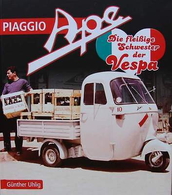 LIVRE/BOOK : PIAGGIO APE (scooter de collection,oldtimer,500,550,600MP,TM,50