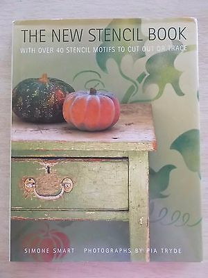 The New Stencil Book~Simone Smart~40+ Stencil Motifs~Projects~Techniques~HBWC