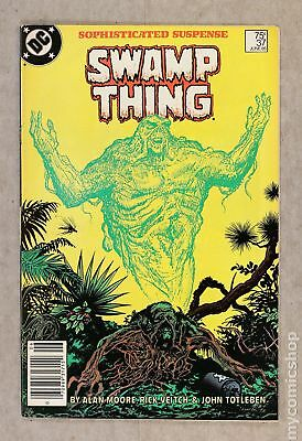 Swamp Thing (1982 2nd Series) #37 FN/VF 7.0
