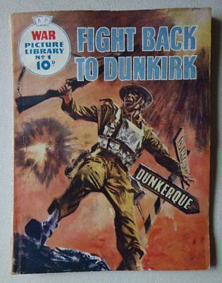 War Picture Library comic #1 (1958) Fair/Good (phil-comics)