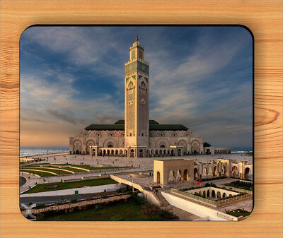 HASSAN II MOSQUE CASABLANCA MOUSE PAD -sde4z