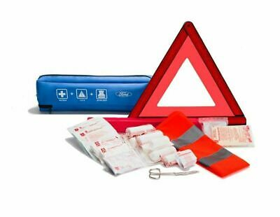 Ford Ecosport 10/2013> Ford Premium Safety / First Aid Kit,Warning Triange,Vest