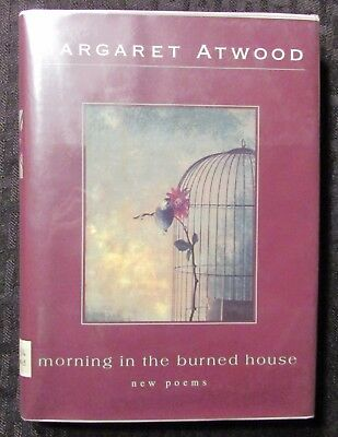 1995 MORNING IN THE BURNED HOUSE by Margaret Atwood HC/DJ VG/VG Ex-Lib M&S