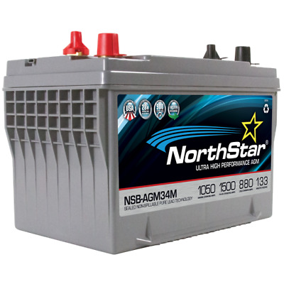 NorthStar NSB-AGM34M Ultra High Performance Marine Batterie