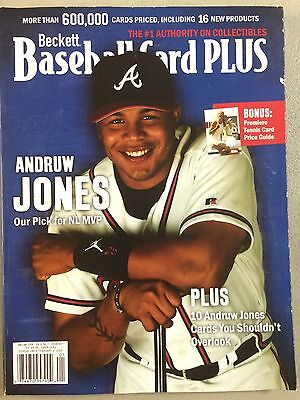 Dec/Jan 2006 Issue #21 Beckett Baseball Card Plus Andruw Jones On The Cover