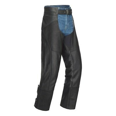 Tourmaster Nomad Leather Chaps Black