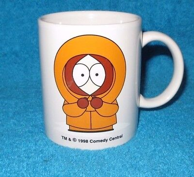 1998 Unused South Park - Kenny Mug Vgc