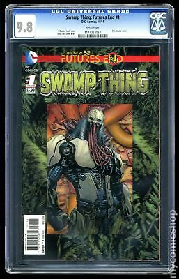 Swamp Thing Future's End (2014) #1A CGC 9.8 1174363057