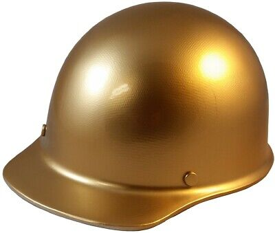 Skullgard Cap Style With Ratchet Suspension Gold