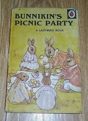 Ladybird Book - Bunnikin's Picnic Party - Series 401