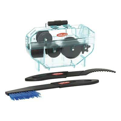 XLC Cycle Gear Cleaning Set With Chain Cleaner & Brush Sprocket Scraper