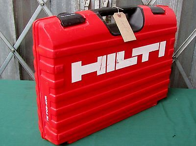 Hilti TE706 AVR Carry Case Box Hilti Tool Box Only Carry Case Only Ref 4607B-G