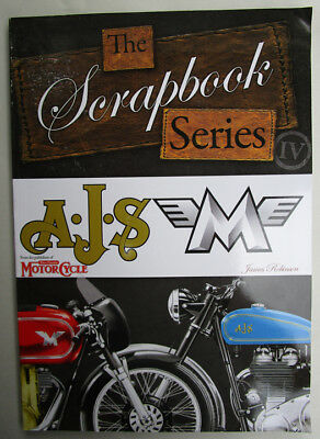 Ajs Matchless Motorcycle Scrap Book Series Vintage Classic Photo Archive History