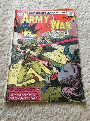 Lot of 3 DC Comics Our Army at War - Silver Age featuring Sgt. Rock! War Books!!