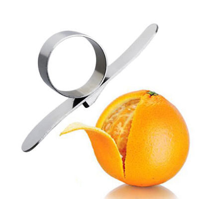 Fruit Lemon Orange Opener Peeler Slicer Cutter Kitchen Tools Stainless Steel