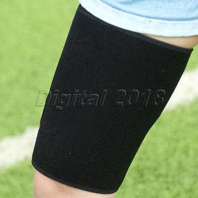 Outdoor Sport Compression Thigh Support Sleeve Leg Brace Hamstring Wrap Bandage