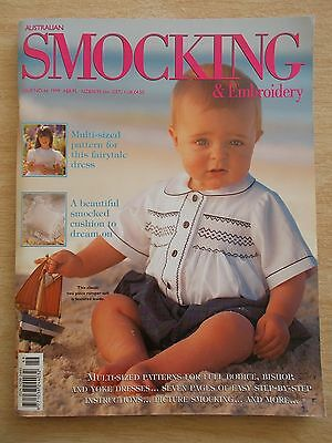 Australian Smocking & Embroidery #46~Dresses~Cushion~Romper Suit~Backpack