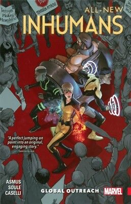 All-New Inhumans Vol. 1: Global Outreach (Paperback), 9780785196389