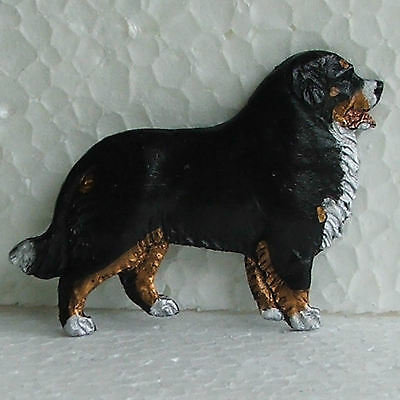 Bernese Mountain Dog Resin Brooch Handpainted Handcrafted Dog Breed Jewellery