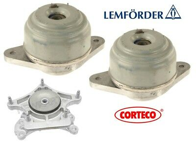 For Mercedes W204 W212 C300 C350 Trans Mount /& Left /& Right Engine Mounts