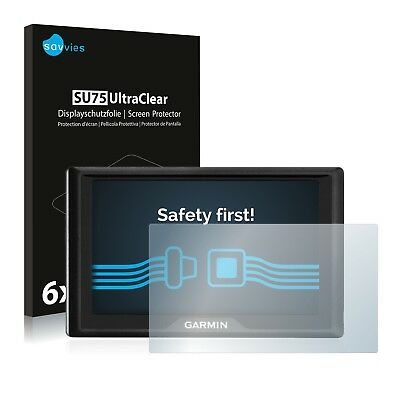 6x Savvies Screen Protector for Garmin Drive 51 LMT-S Ultra Clear