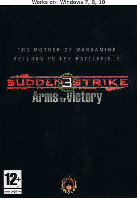 Sudden Strike 3: Arms for Victory + The Last Stand PC Game Windows 7 8 10