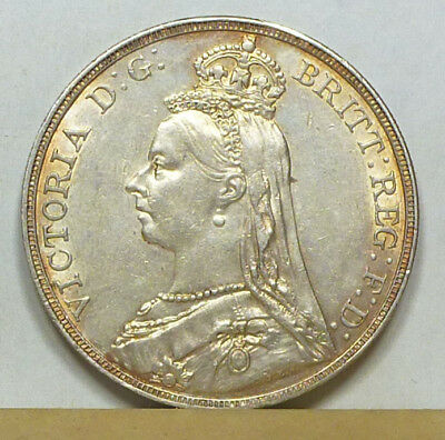 Great Britain Crown 1892 Almost Uncirculated