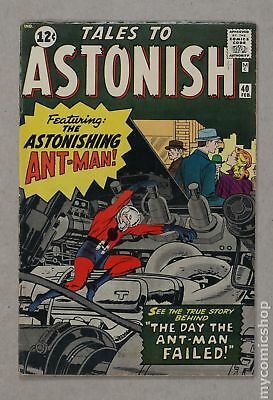 Tales to Astonish (1959-1968 1st Series) #40 GD/VG 3.0