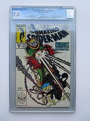 '88 Amazing Spider-Man # 298, Graded  Cgc 7.0,  1St Appearance Of Eddie Brock