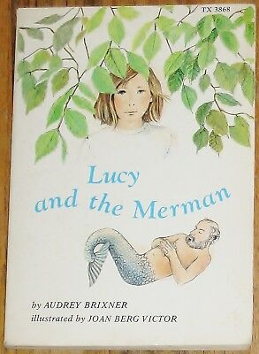 Lucy and the Merman ~ by Audrey Brixner ~ vintage Scholastic