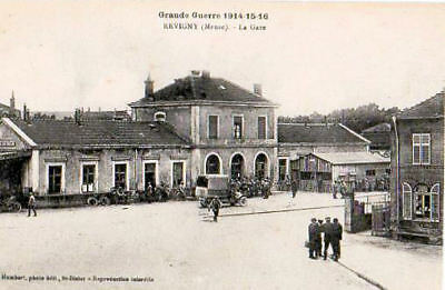 55  Cpa Debut 1900- Revigny- La Gare