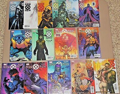 NEW X-MEN #142-156 * Marvel Comic Lot * 15 comics - Morrison Silvestri Bachalo