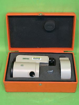 Nice PENTAX SM1 PARALLEL PLATE MICROMETER FOR PRECISE LEVEL MADE JAPAN w/ CASE!