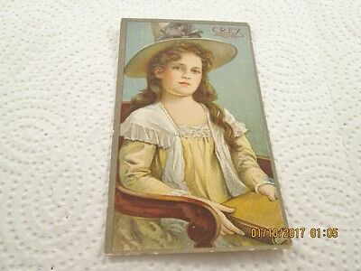 Antique Advertising Trade Card CREX Grass Carpet American Grass Twine Co.