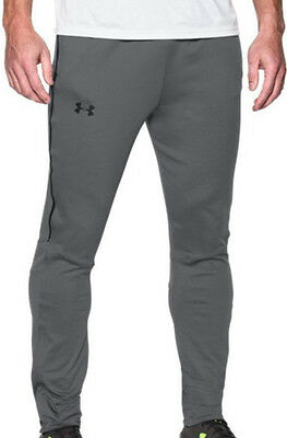 Under Armour Pitch Knit Tech Mens Track Pants - Grey