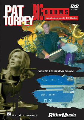 PAT TORPEY BIG Drums Learn How to Play Rock Lessons Rittor Music Video DVD  NEW