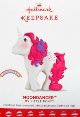 "2017 Hallmark My Little Pony Ornament ~  ""moondancer"""