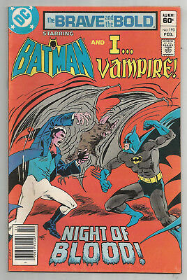 THE BRAVE AND THE BOLD # 195 * BATMAN and I...VAMPIRE
